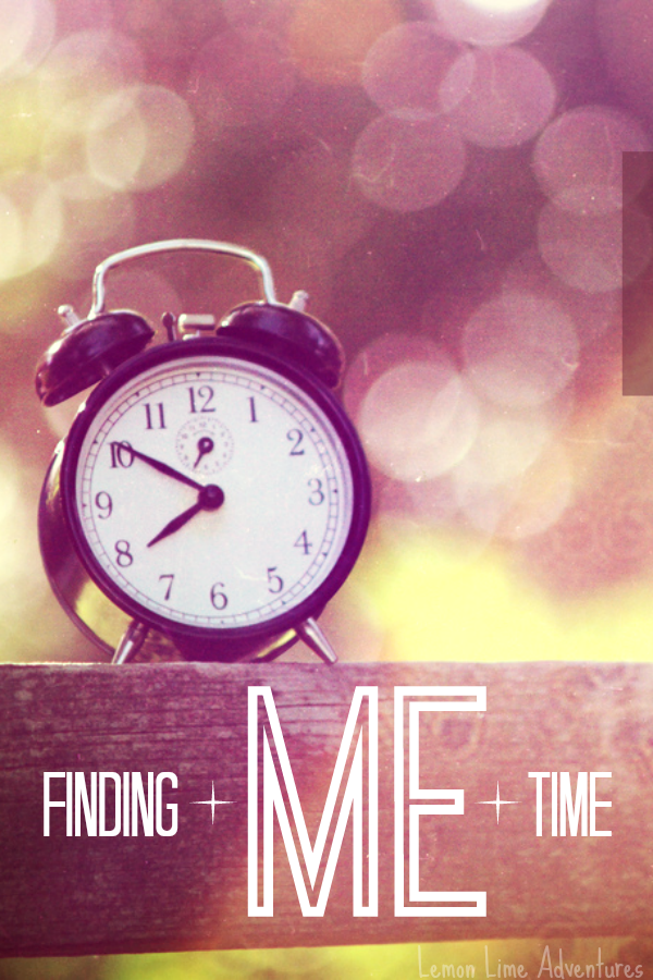 Finding Me Time
