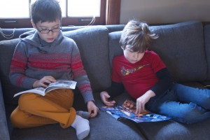 Homeschool reading