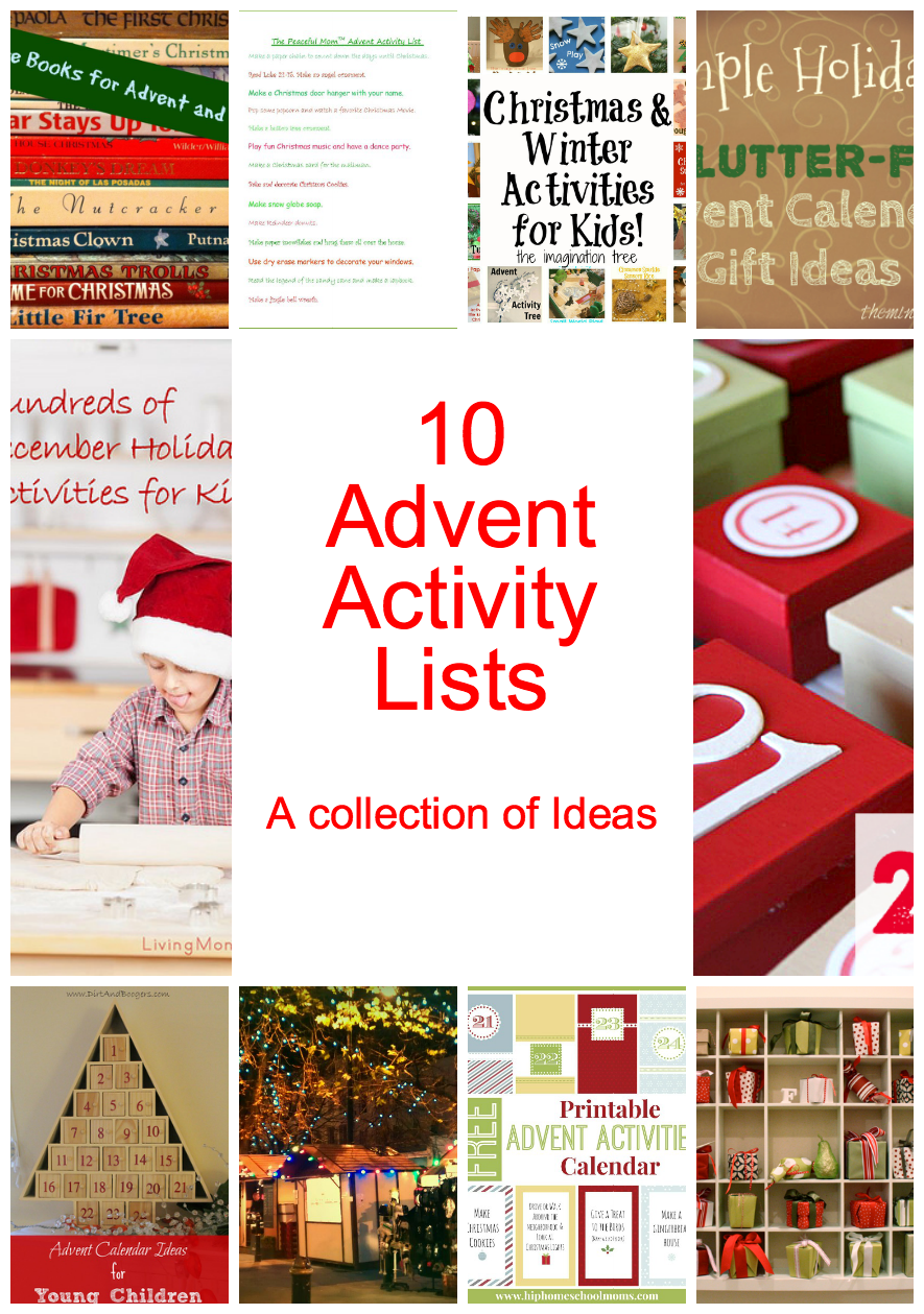 Unique Advent Calendar Ideas : Awesome diy advent calendar ideas days of