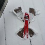 Elf on the shelf Snow Angel