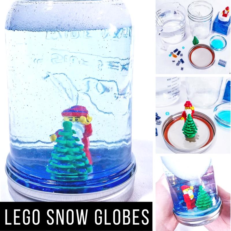 LEGO Snow Globes