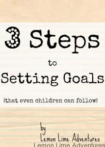 setting and achieving goals