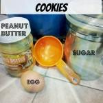 Simple 3 ingredient cookies