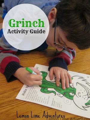 how the grinch stole christmas grinch - How The Grinch Stole Christmas Activities