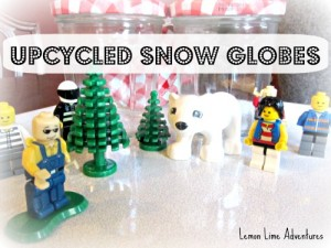 upcycled snowglobes