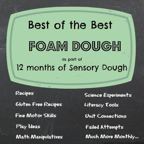 Foam Dough