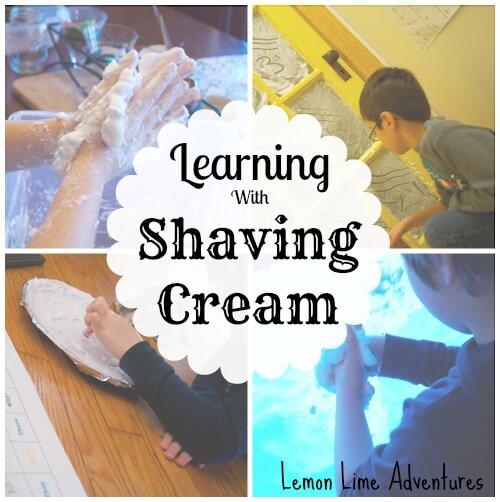 Shaving Cream Learning