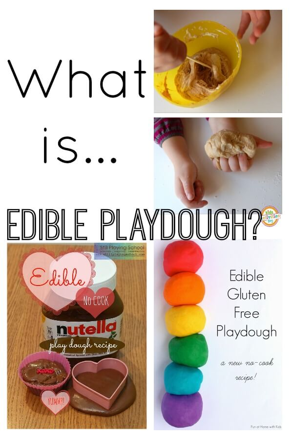 What is Edible Playdough