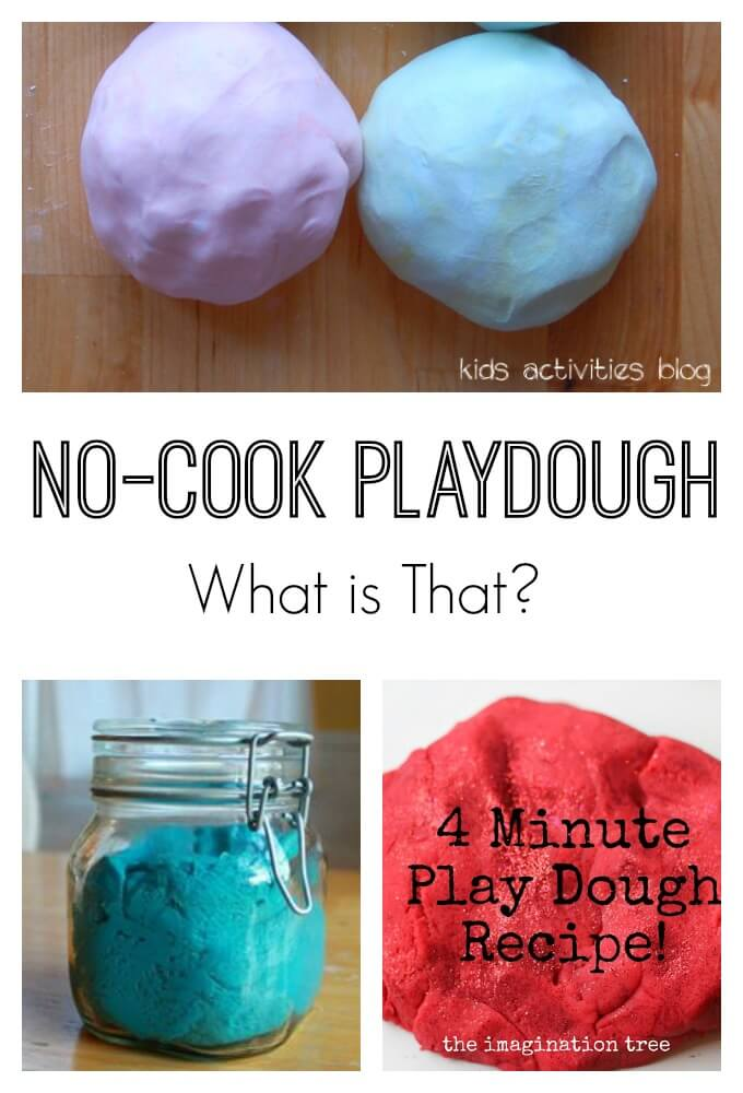 What is No-Cook Playdough