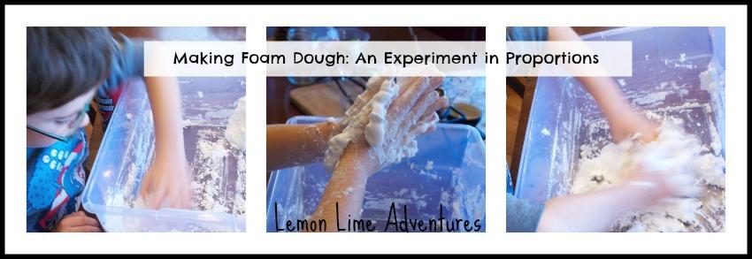 Foam Dough Experiment