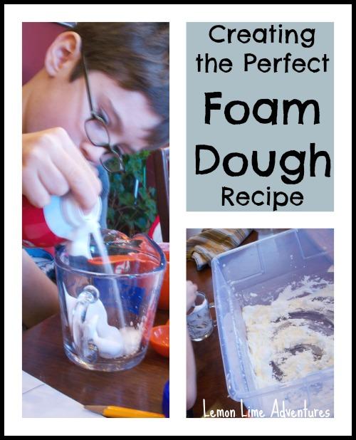foam Dough recipe