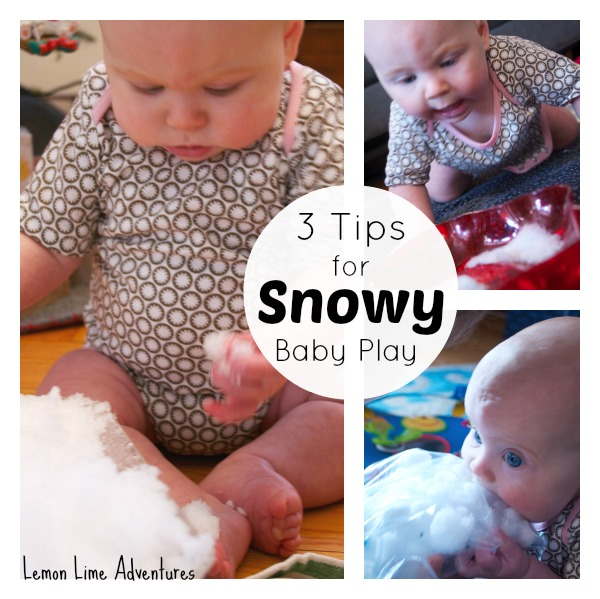 3 Tips for Snowy Baby Play