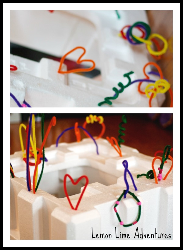 DIY Activity Center for Babies