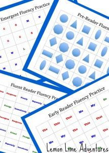 Fluency Practice Packet