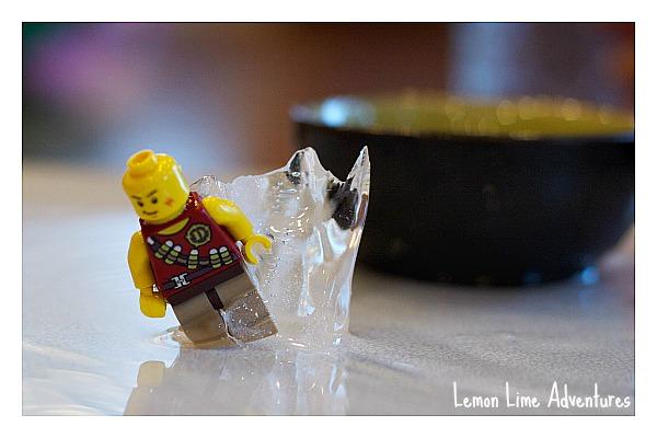 Lego Sciece Excavations in Ice