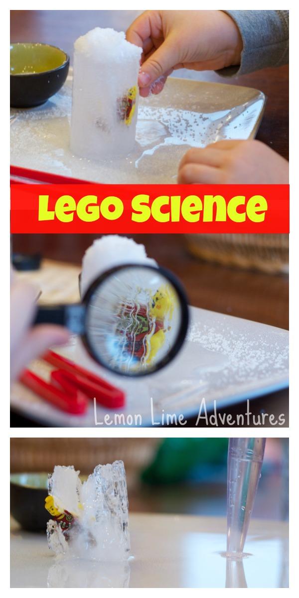 Lego Science An Ice Excavati