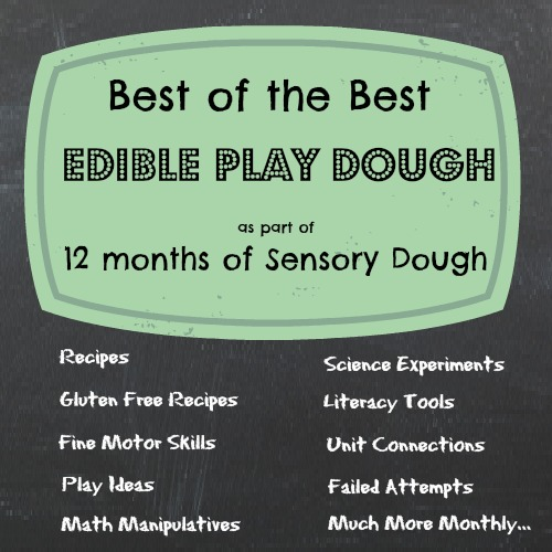 Easy recipes for playdough
