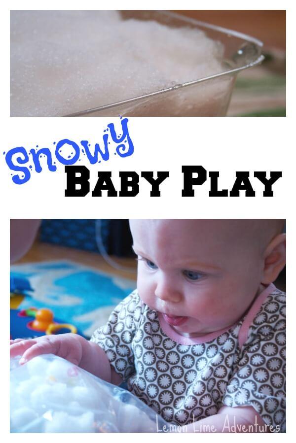 Snowy Baby Play