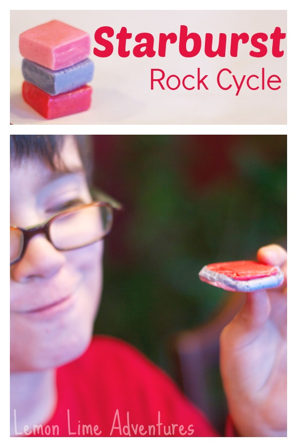 Edible Rock Cycle for Kids