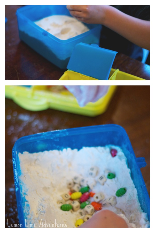 Travel Sensory Bins Easy Setup