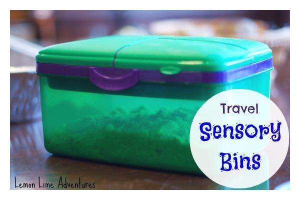 Travel Sensory Bins