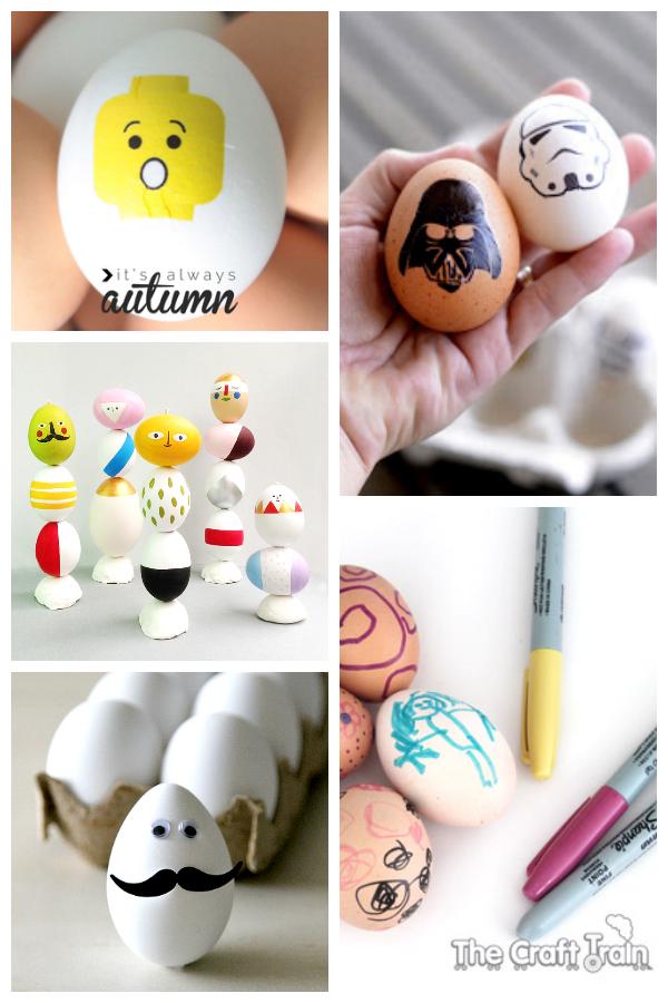 10 Unique Dye Free Easter Egg Ideas