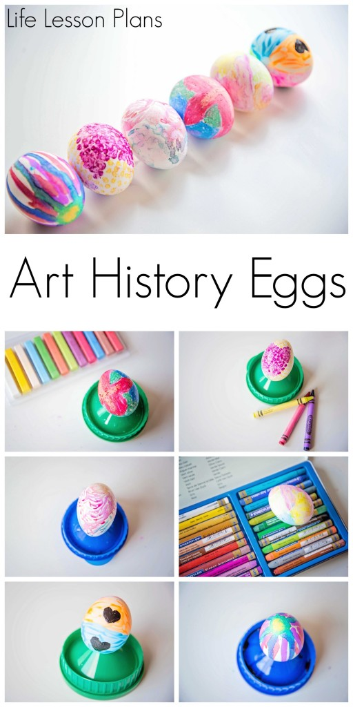 Art History Egg Decorations