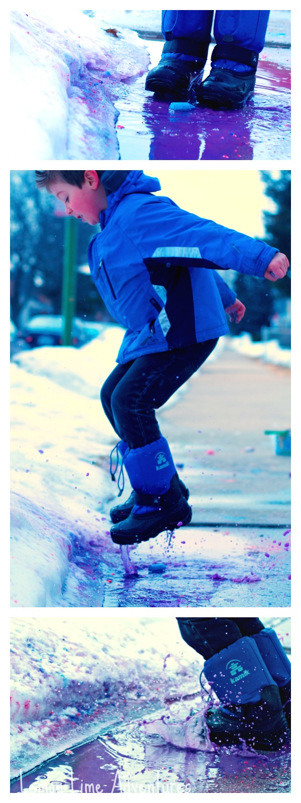 Color Puddle Jumping