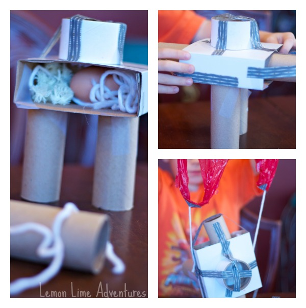 Creating an Egg Drop Contraption