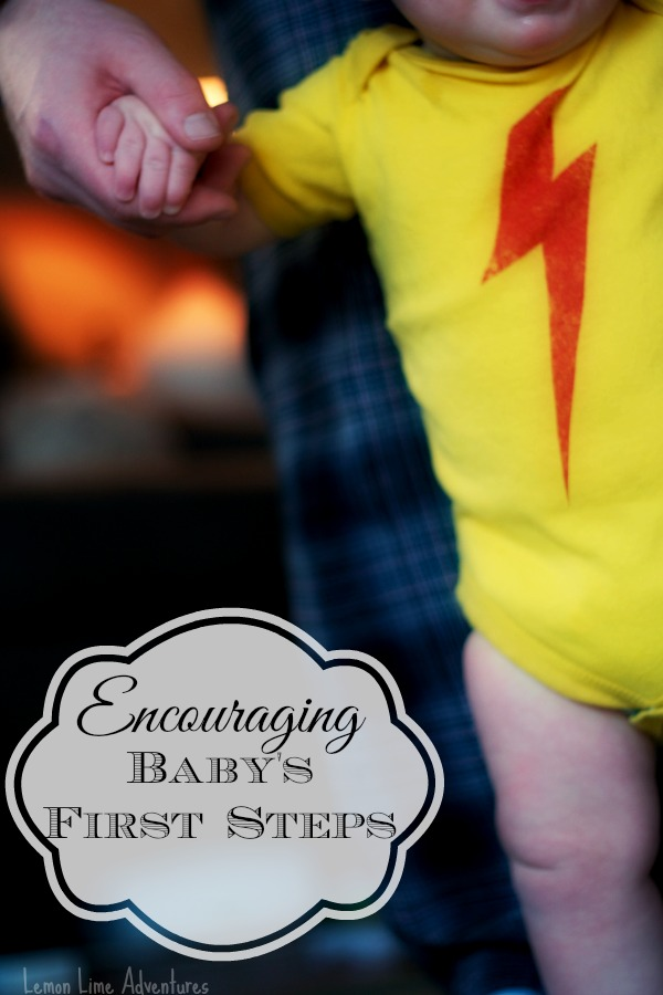 Encouraging Baby's First Steps