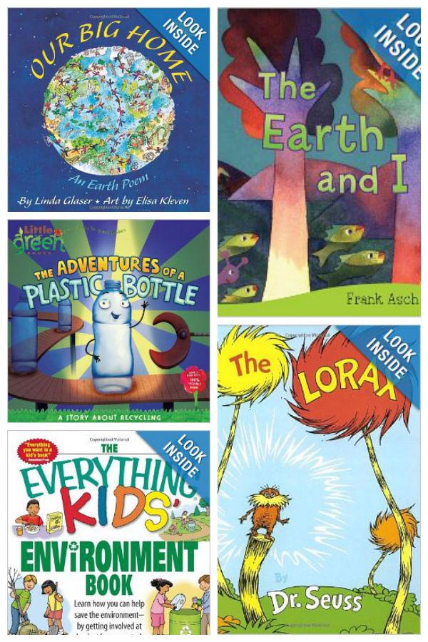 Earth Day Books for Older Children