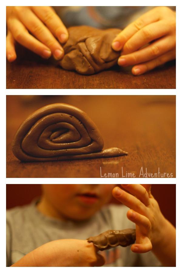Nutella Playdough