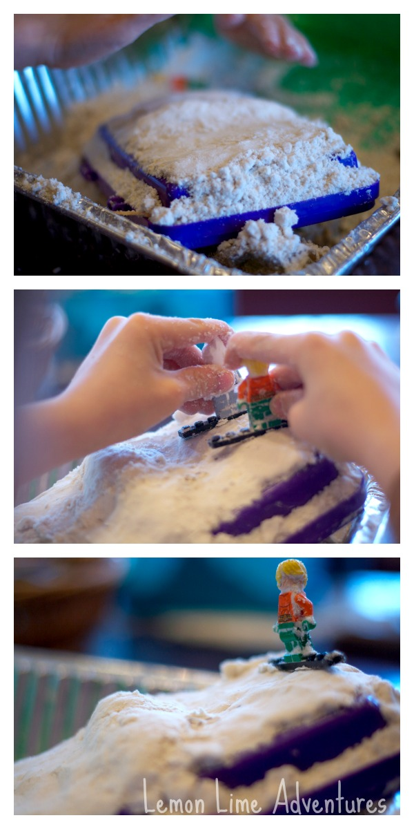 Preparing storytelling with Legos