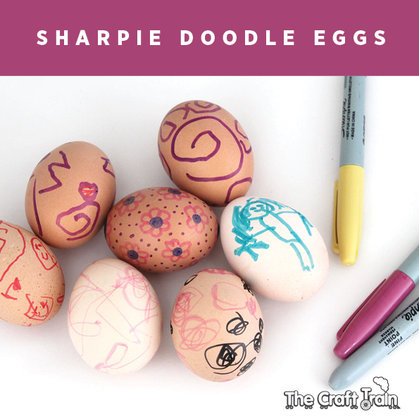 Sharpie-eggs-Craft Train