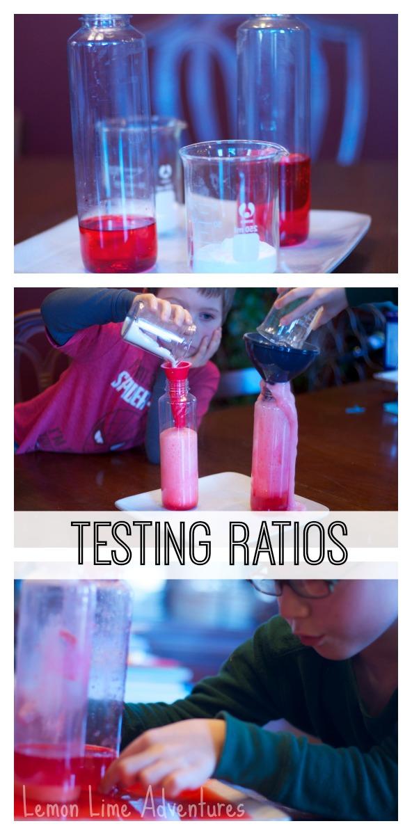 Simple Science Testing Ratios