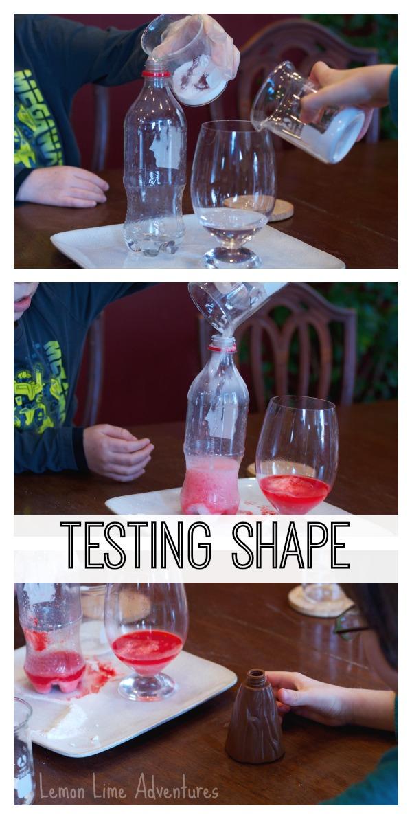Simple Science Testing Shape