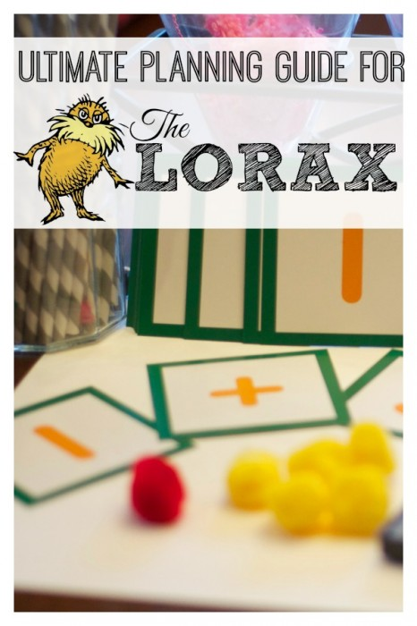 The Lorax: A Guide to Activities and Lessons