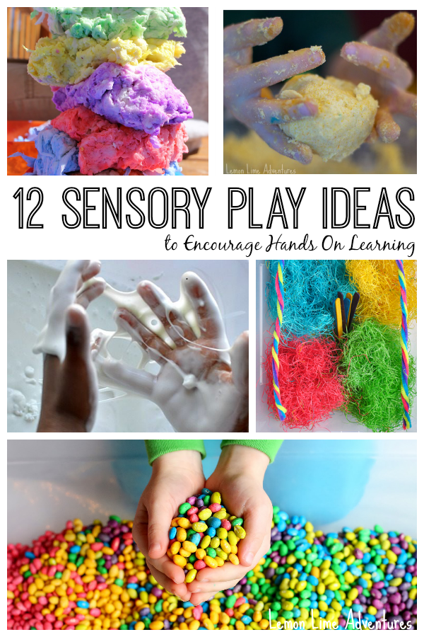 12 Sensory Play Ideas