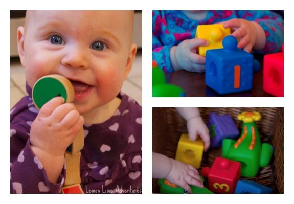 Baby Busy Bin toys