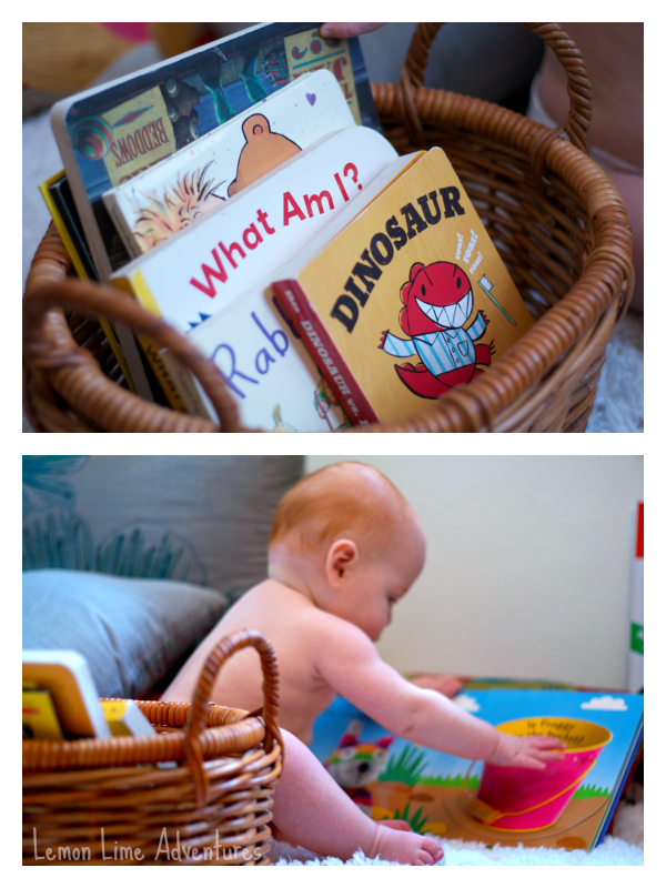 Baby Busy Box with Books