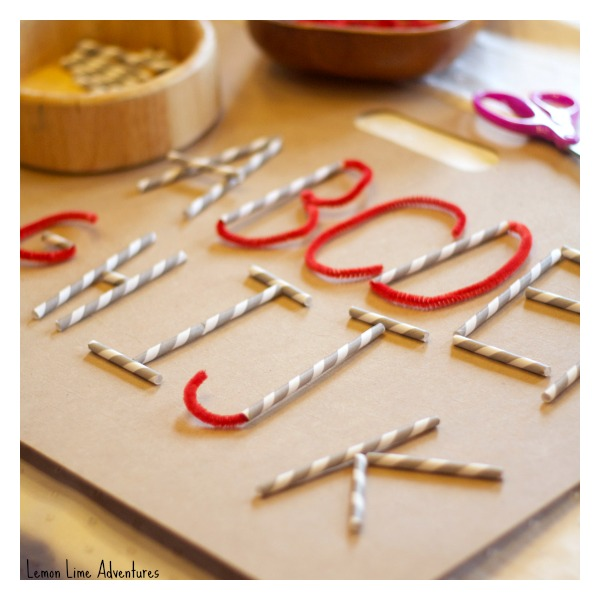 Letter Formation Activity
