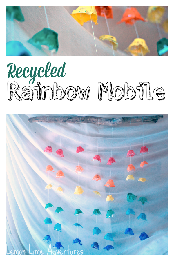 Recycled Rainbow Mobile
