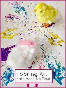 Spring Wind Up Toy Art