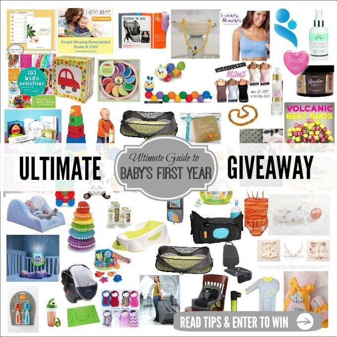 ULTIMATE baby Giveaway worth over $2k