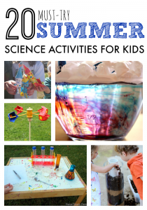 20 Must Try Summer Science Activities for Kids