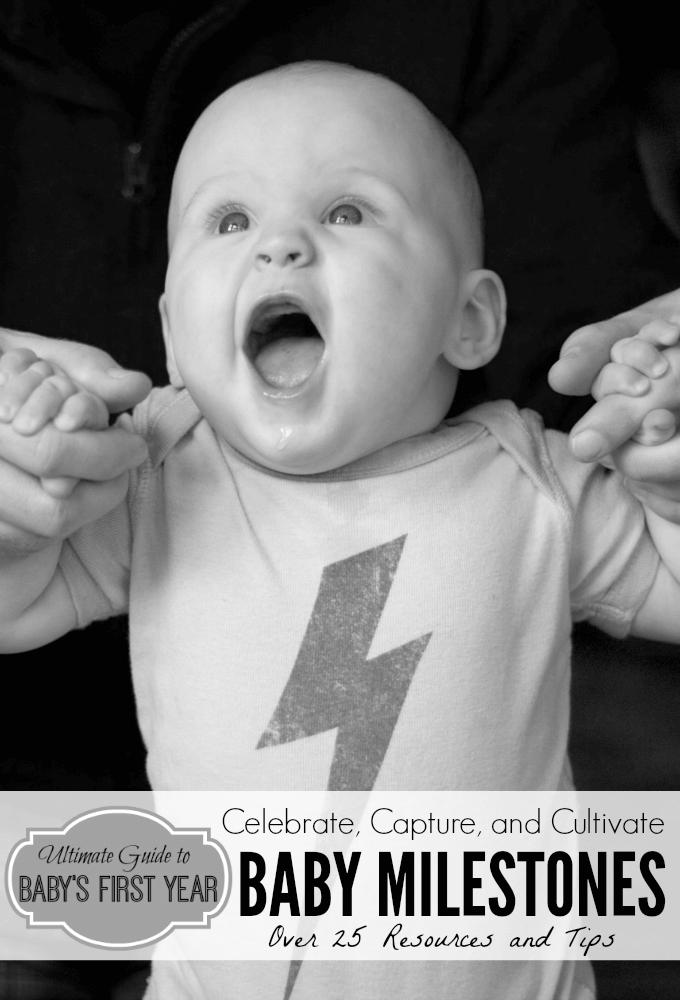 Baby Milestones babys first year