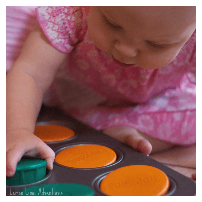 Baby Play with Lids