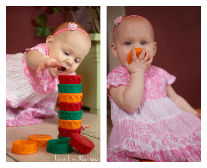 Stack and Crash Baby Play