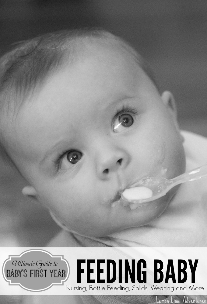 Ultimate Guide to Feeding Baby First Year