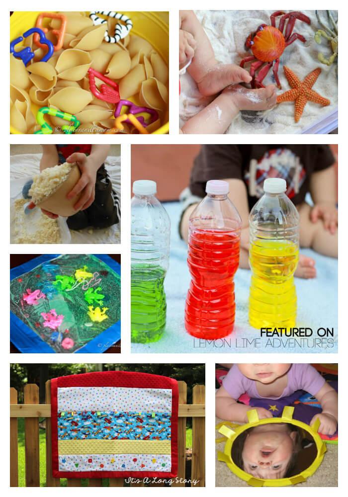 Sensory activities for babies.
